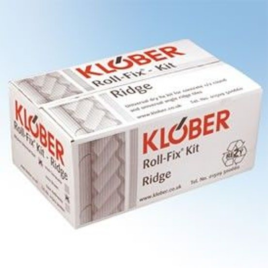 Klober Dry Roll Fix Kit System for Concrete Hip (5m Pack) - Terracotta
