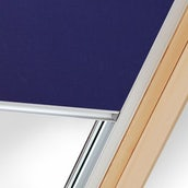 Universal Blackout Blind in Blue (fits Roof Windows - 78cm x 98cm)