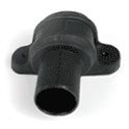 Cascade Cast Iron Style 68mm Corner Plastic Coupler & Lugs (Black)