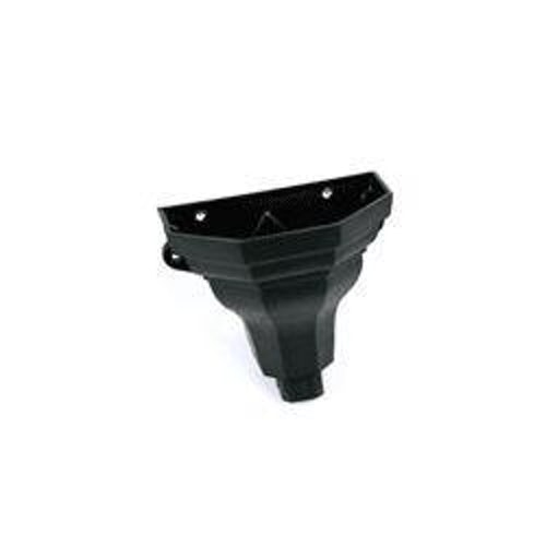 Cascade Cast Iron Style 65mm & 68mm Ogee Hopper Medium (Black)
