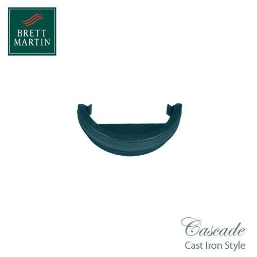 Cascade Cast Iron Style 112mm Roundstyle External Stopend - Green