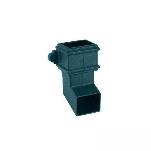 Cascade Cast Iron Style 100 x 75mm Plastic Shoe With Lugs (Green)