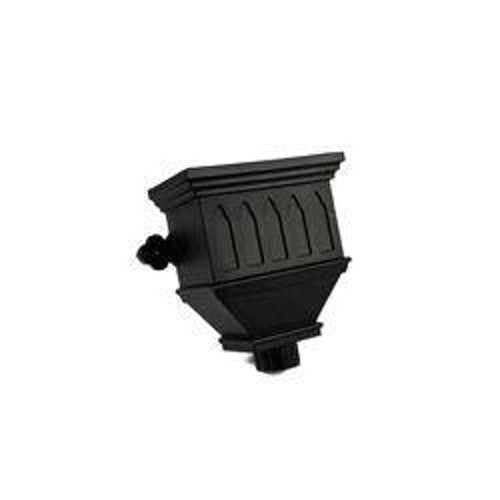 Cascade Cast Iron Style 105mm Bath Hopper Windowed (Grey)