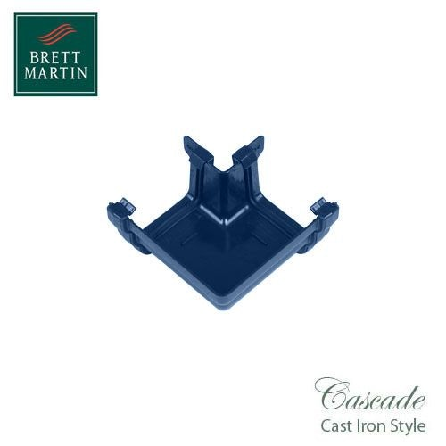 Cascade Cast Iron Style 106mm Prostyle External 90dg Angle - Blue