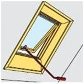 VELUX ZCZ 112 Control Rod 120cm for GHL/GPL Top Hung Windows