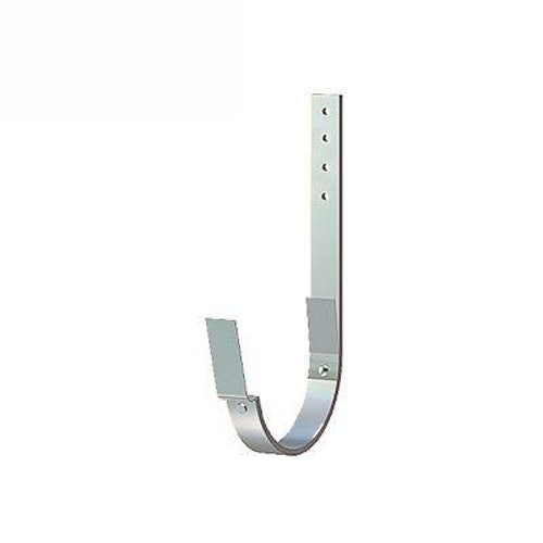 Lindab Half Round Rafter Bracket 190mm Painted Silver Metallic