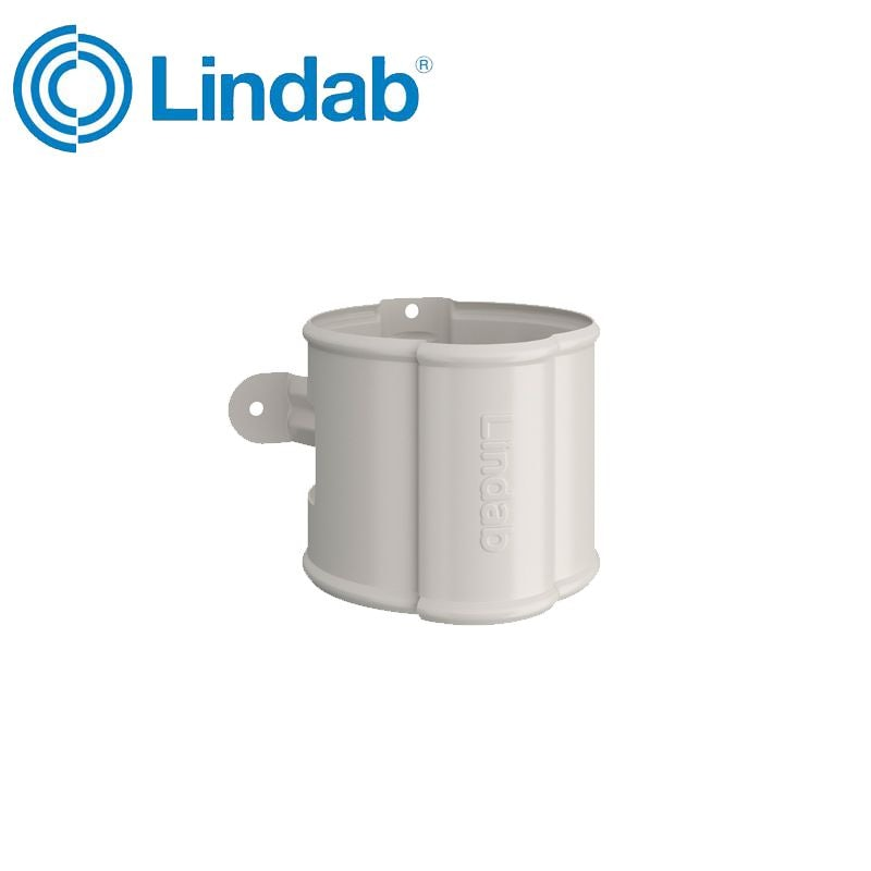 Video of Lindab Round Downpipe Bracket 87mm Painted Antique White