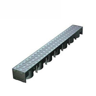 Manthorpe SmartDrain Drain Channel 1m Length in Silver - Pack of 96