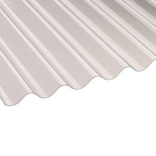 Vistalux PVC Corrugated Roof Sheets (Profile 3) 1.83m x 0.762m x 0.8mm