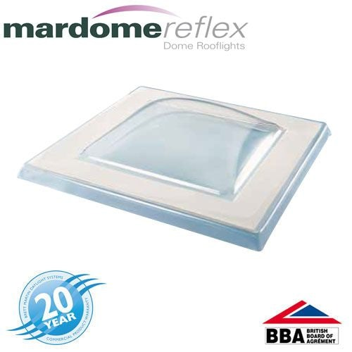 Mardome Reflex 600 x 600mm Triple Glazed Textured Fixed Glazing Unit