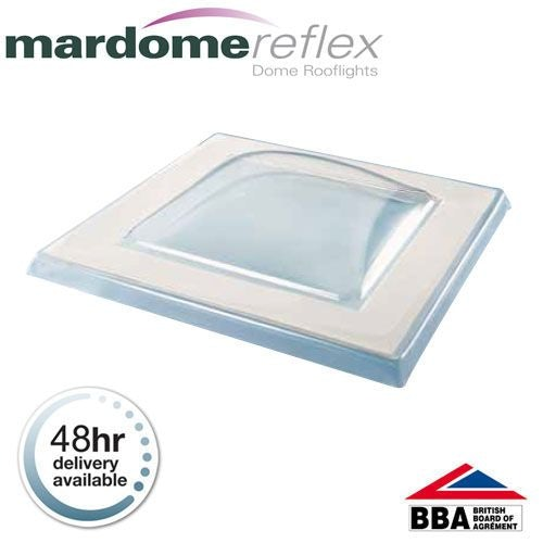 Mardome Reflex 600 x 1200mm Double Glazed Textured Fixed Glazing Unit