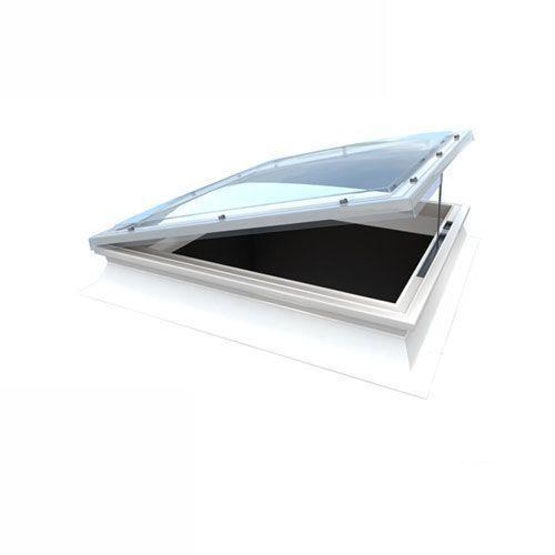 Mardome Trade Opening Roof Dome & Kerb 600 x 600mm Dbl Glazed Textured