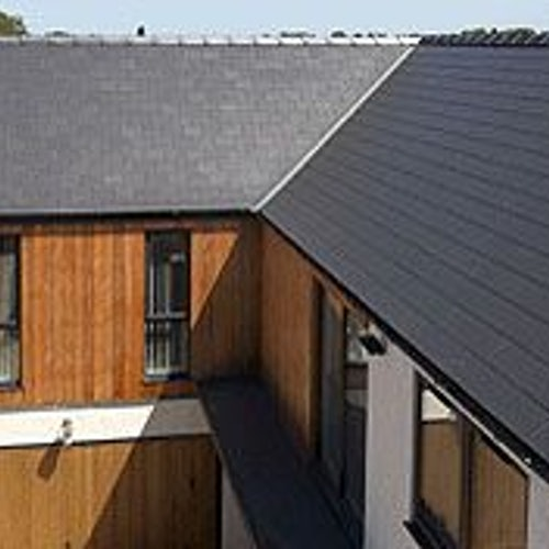 Marley 600mm x 300mm Garsdale Man-Made Fibre Cement Slate - Blue/Black
