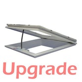 UPGRADE - S3 Electric Opening Hinged Frame & Spindle - 750mm x 750mm