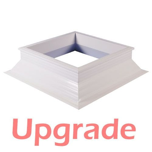 UPGRADE - S11 300mm High PVC Upstand - 1400mm x 1400mm