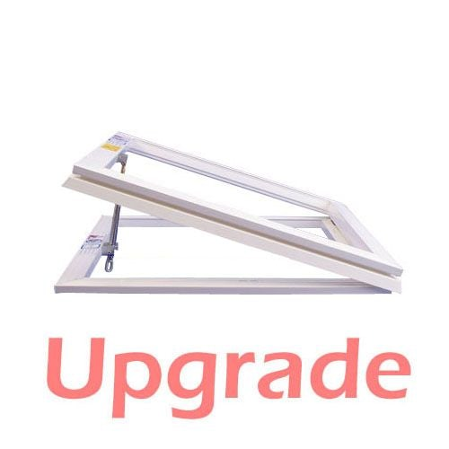 UPGRADE - S6 Manual Opening Hinged Frame & Spindle - 950mm x 950mm