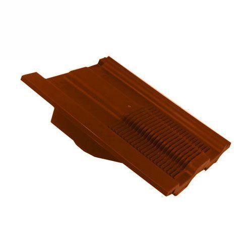 Ubbink UB62 Castellated In-line Roof Tile Vent - Terracotta