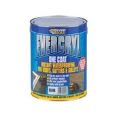 Everbuild Evercryl One Coat Acrylic Waterproof Coating - 5kg Translucent