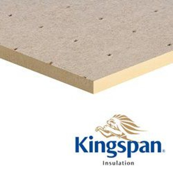 Kingspan 120mm Thermaroof TR27 Flat Roof Insulation - 2.88m2 Pack