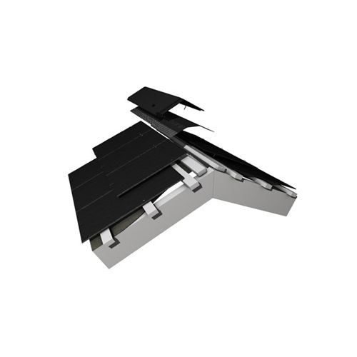 Marley Universal Ventilated Ridge Roll for Fibre Cement Slates - 6m