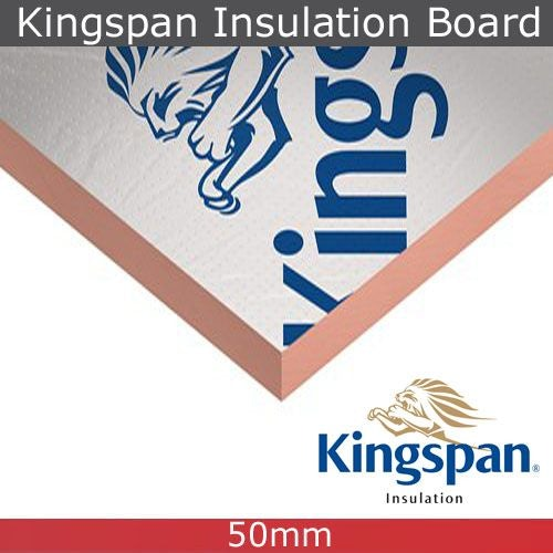Kingspan Kooltherm K7 Insulation Board 50mm x 1.2m x 2.4m - Pack of 6
