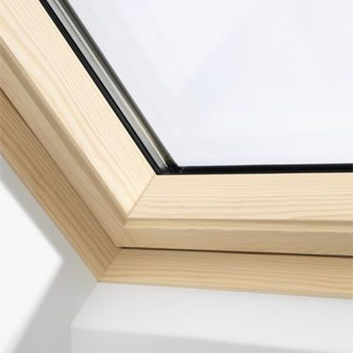 VELUX GGL MK06 3070Q Pine Centre Pivot Window Enhanced - 78cm x 118cm