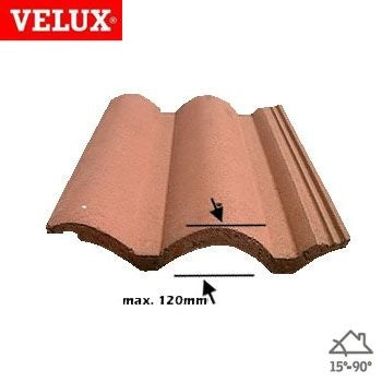 Video of VELUX EDW PK04 0000 Single 120mm Tile Flashing - 94cm x 98cm