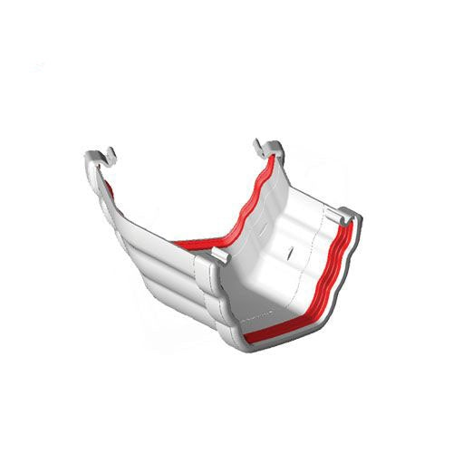 Freeflow 150 Degree Ogee Style Gutter Angle - White