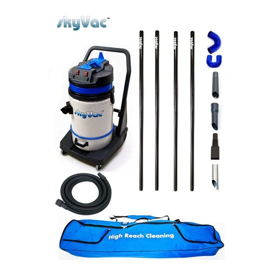 SkyVac 75 Commercial High Reach Inspection and Cleaning System - 6m