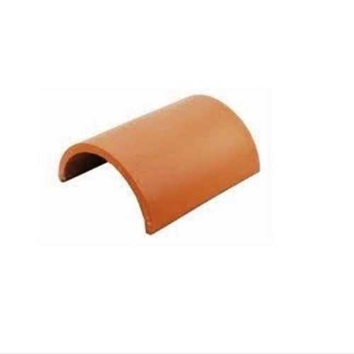 Redland Rosemary Clay Classic Half Round Ridge - Red