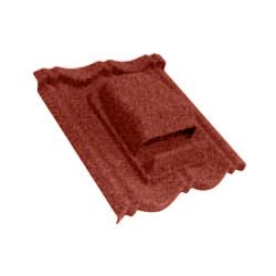Video of Metrotile Bond Cowl Tile Vent - Red