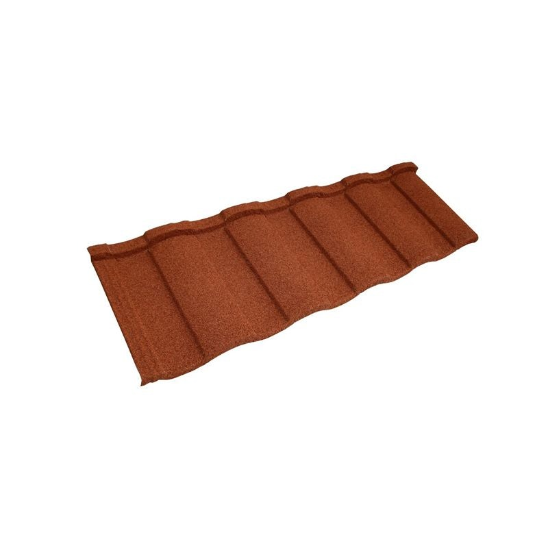 Video of Metrotile Roman 450 Classic Contour Profile - Terracotta