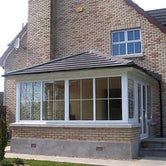 Delta Lite Edwardian Roofing System with Tapco Slates - 3.9m x 3m