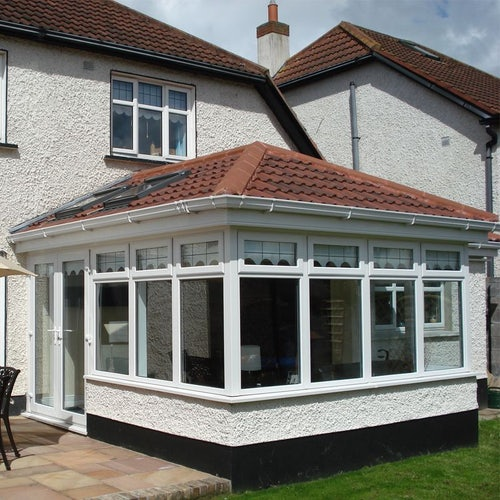 Delta Lite Edwardian Roofing System with Metrotile - 2.7m x 3m
