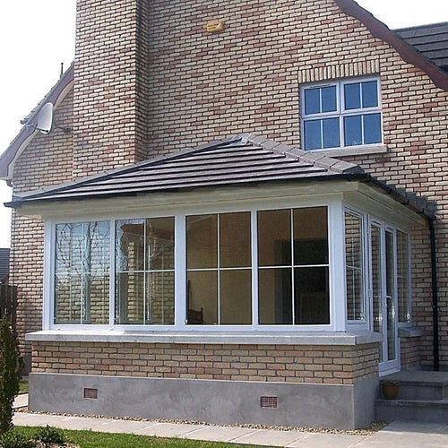 Delta Lite Edwardian Roofing System with Metrotile - 3.3m x 3.5m