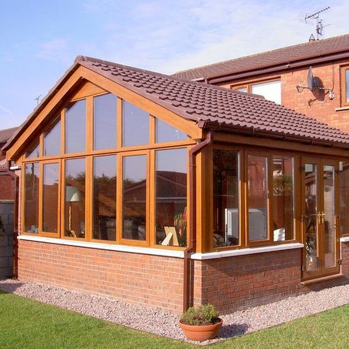 Delta Lite Pavillion Roofing System with Tapco Slates - 4.2m x 3m