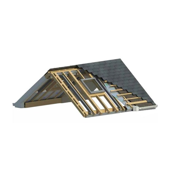Video of Delta Lite Pavillion Roofing System with Tapco Slates - 4.8m x 3m