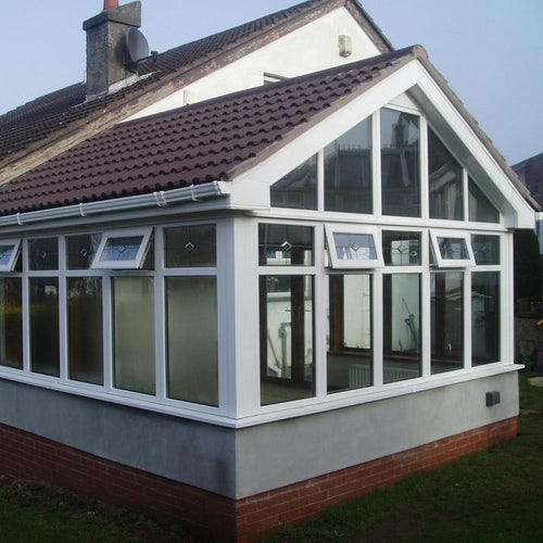 Delta Lite Pavillion Roofing System with Metrotile - 3.6m x 3.5m