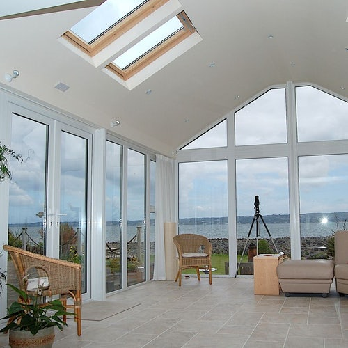 Delta Lite Pavillion Roofing System with Metrotile - 4.8m x 3.5m