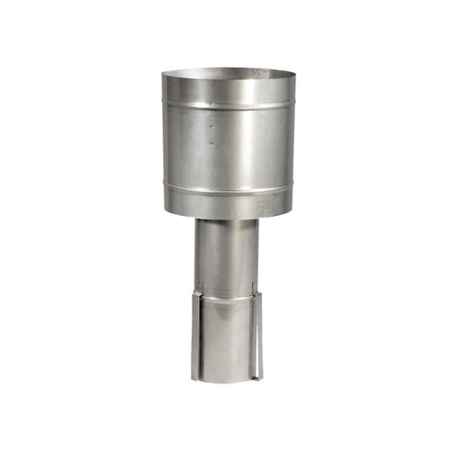 Windmaster Stainless Steel Chimney Cowl for Gas 178mm - Natural