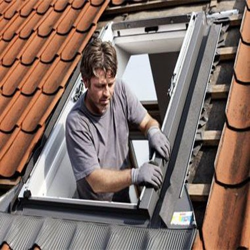 VELUX EW CK01 6000 Replacement Single Tile Flashing - 55cm x 70cm
