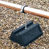 Cable Tray and Pipework Support Foot Flexi-Foot - 250mm Universal