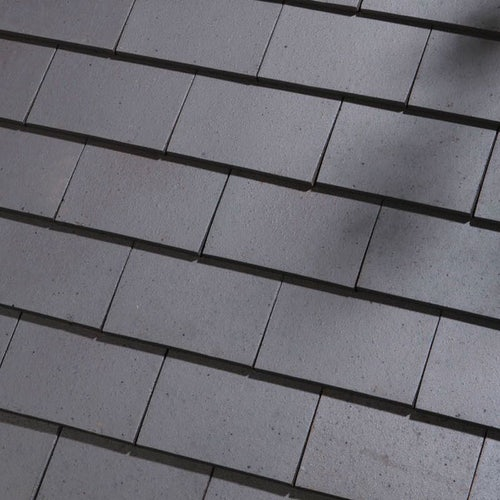 Dreadnought Premium Clay Eaves Tile - Staffordshire Blue Smooth