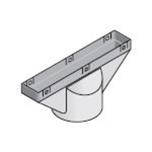 Marley Clay Plain in-line Tile Vent Adaptor