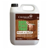 Cromar Shed and Fence Treat Light Brown - Brush or Spray - 25 Litres