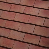 Dreadnought Classic Clay Roofing Valley Tile - Bronze Sandfaced