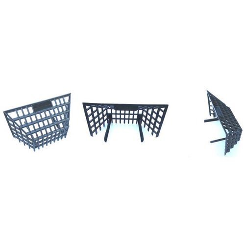 Wallbarn Square Leaf Guard For Corner Outlets Roofing