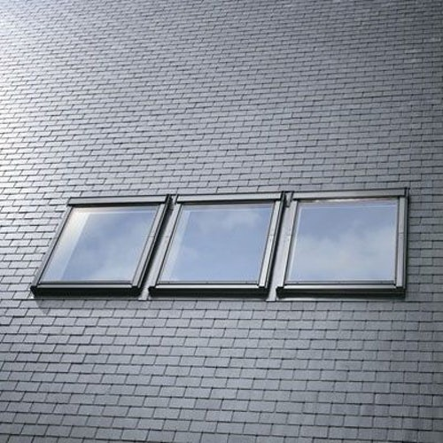 VELUX EKL PK25 S0312 Triple Slate Flashing 100mm Gap - 94cm x 55cm