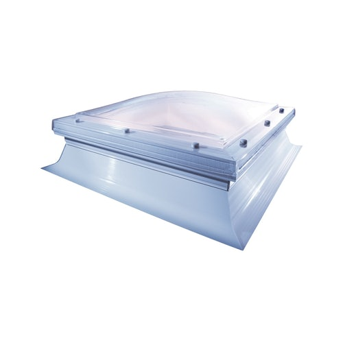 Skylight Double Glazed Fixed Dome & Kerb by Hi-Light - 750mm x 750mm