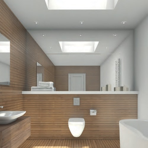 Skylight Triple Glazed Fixed Dome Only by Hi-Light - 600mm x 900mm